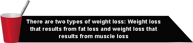 there are two types of weight loss